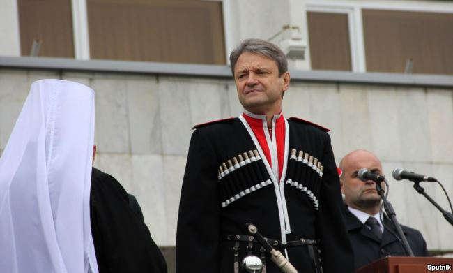 Бывший губернатор Краснлодарского края Александр Ткачев