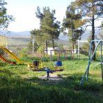 Детская площака в котеджном поселке Пушкинский дол