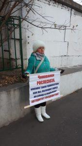 Пикеты у рослесхоза Пушкинский дол